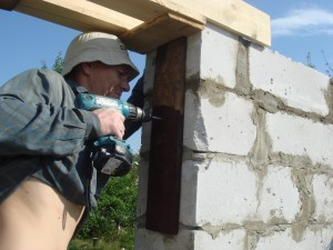 фото - Строительство дома своими руками из блоков
