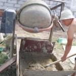 фото - Подготовка раствора для кладки газосиликатных блоков