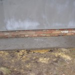 """фото - Цоколь должен быть """"утоплен"""" относительно стен из газосиликатных блоков"""