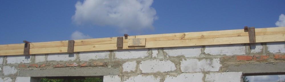 Армопояс. Армированный пояс. Строительство дома из газоблоков своими руками