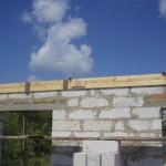 фото - Армопояс. Армированный пояс. Строительство дома из газоблоков своими руками
