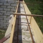 Армопояс. Армированный пояс. Изготовление своими руками. Строительство недорого дома из блоков своими руками