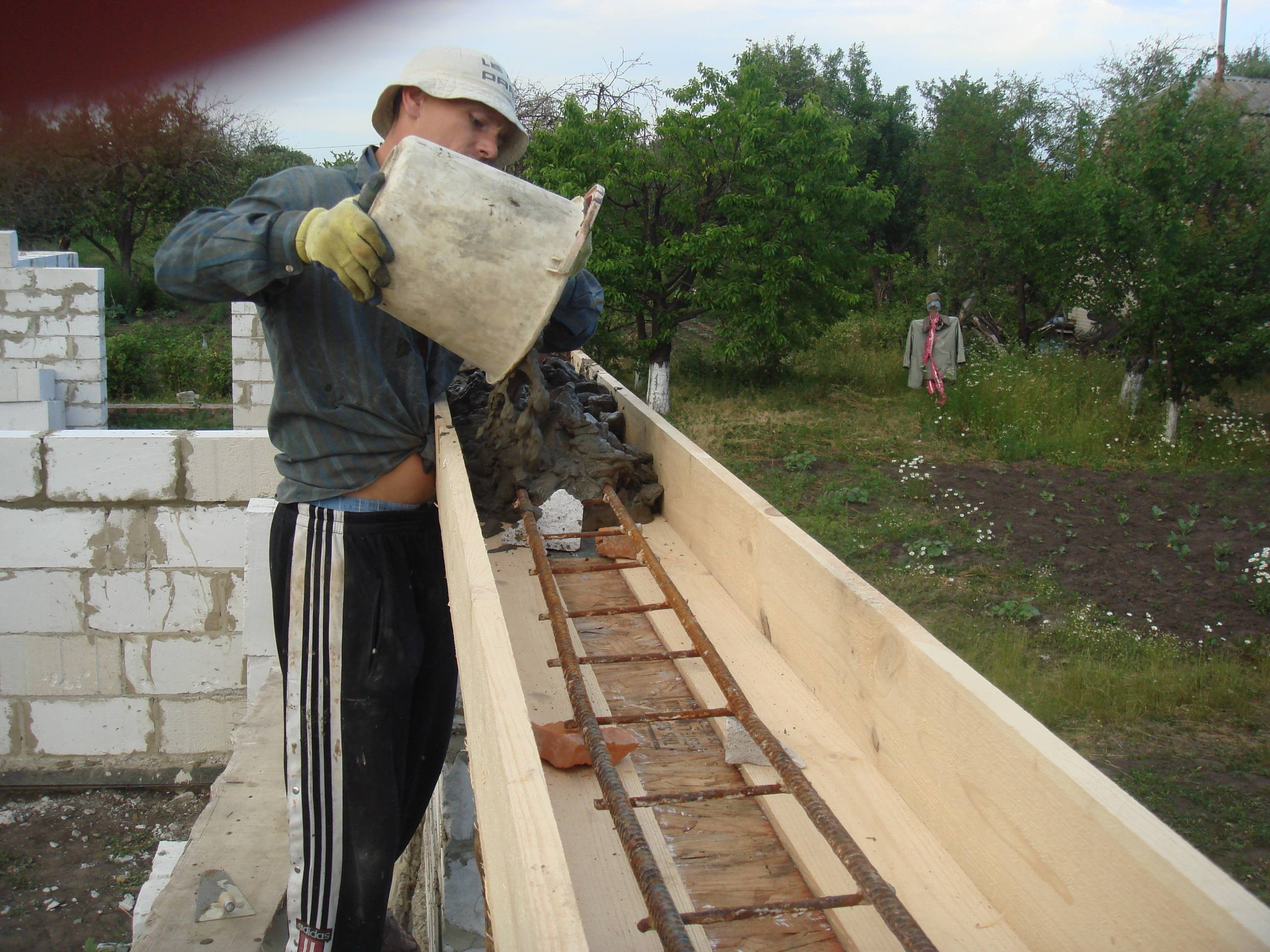 Трамбовка бетона своими руками 39