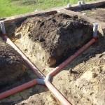 фото - Внутренняя канализация, прокладка трубопровода
