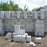 фото - кладка блоков на цементно-песчанный раствор. Сколько цемента и клея нужно на кладку куба газосиликатных блоков (пеноблоков, газоблоков)