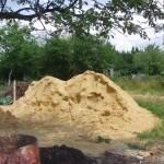 Песок для кладочного раствора. Песок и цемент в соотношении 1:3. Сколько цемента в кубе раствора?