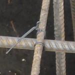 фото - вязка арматуры, узлы, угловой узел