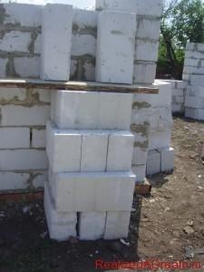 фото - газосиликатные блоки, сколько в м3 и м2