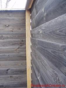 фото - как сделать забор из дерева