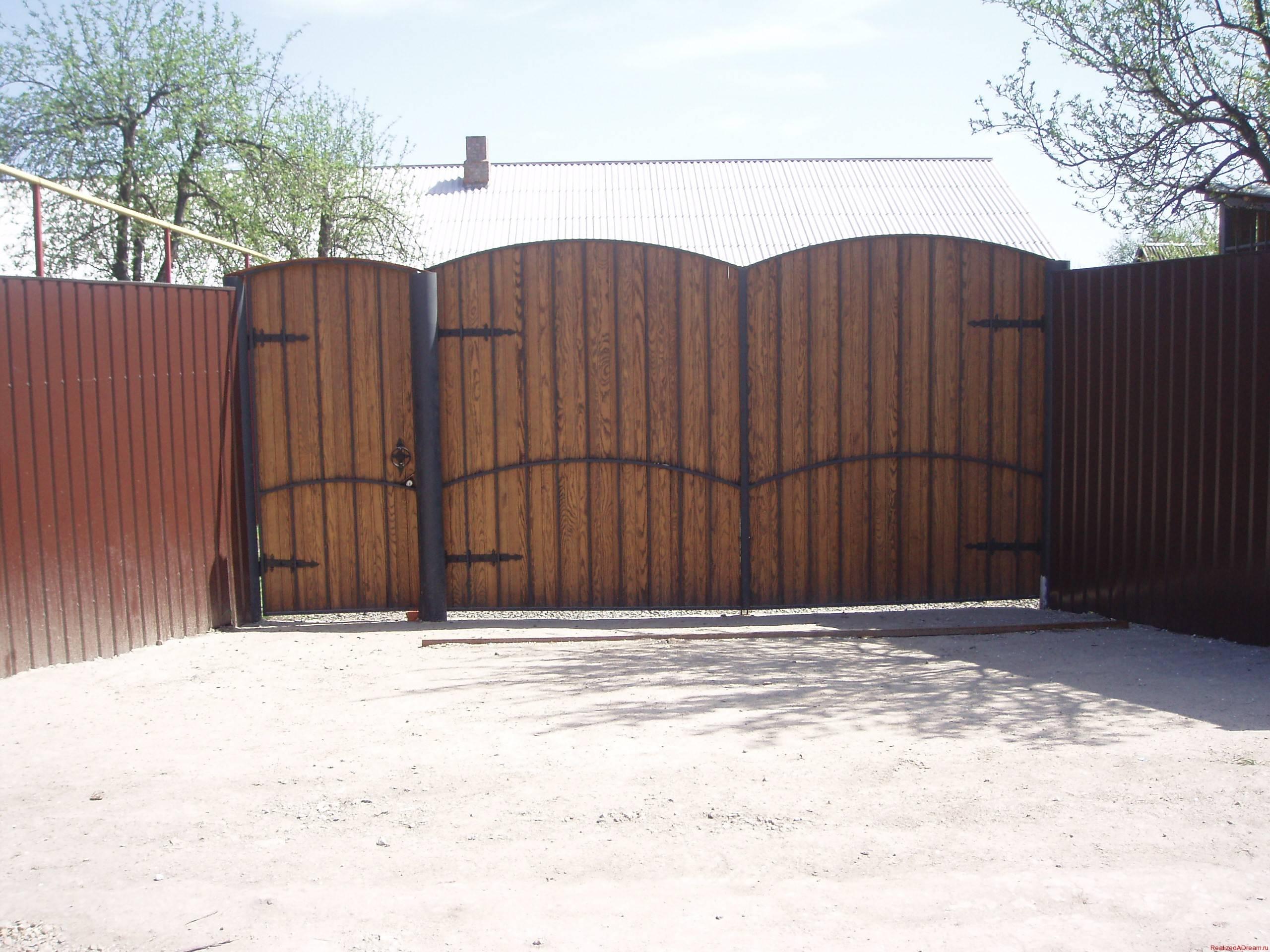 Забор на даче цена с установкой (от 330 рублей за) 85
